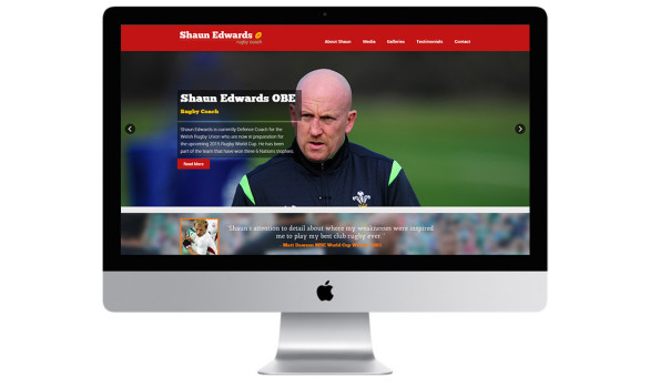 Shaun Edwards Rugby Coach